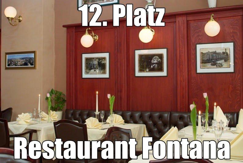 Restaurant Fontana in Erfurt